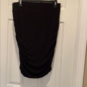 INC stretchy ruched pencil skirt